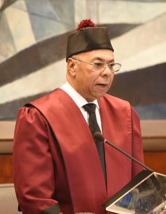 Discurso de rendición de cuentas del juez presidente del Tribunal Constitucional, Mgdo. Milton Ray Guevara, de fecha 23 de enero de 2020.