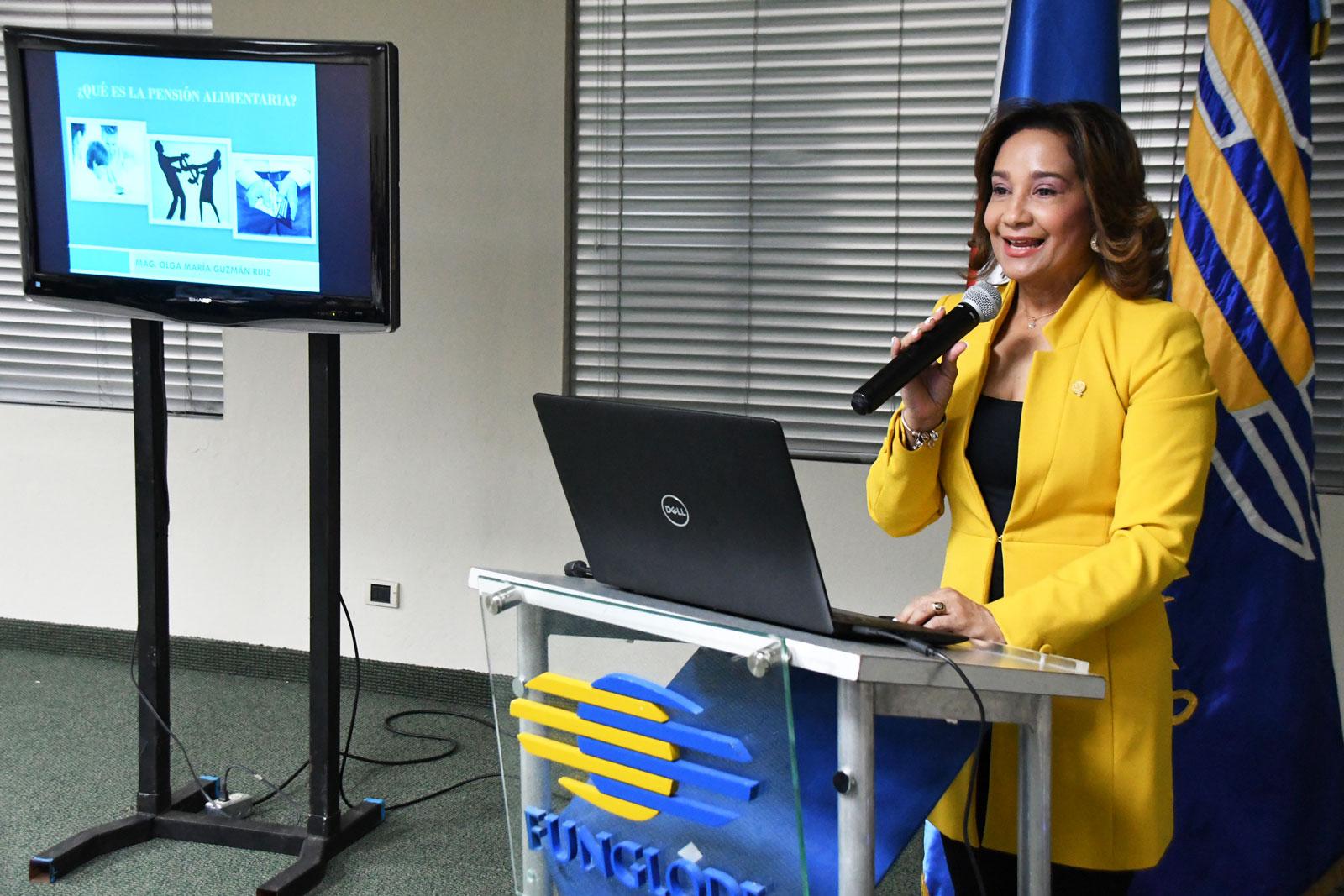 Observatorio Judicial imparte taller sobre el régimen de pensión alimentaria