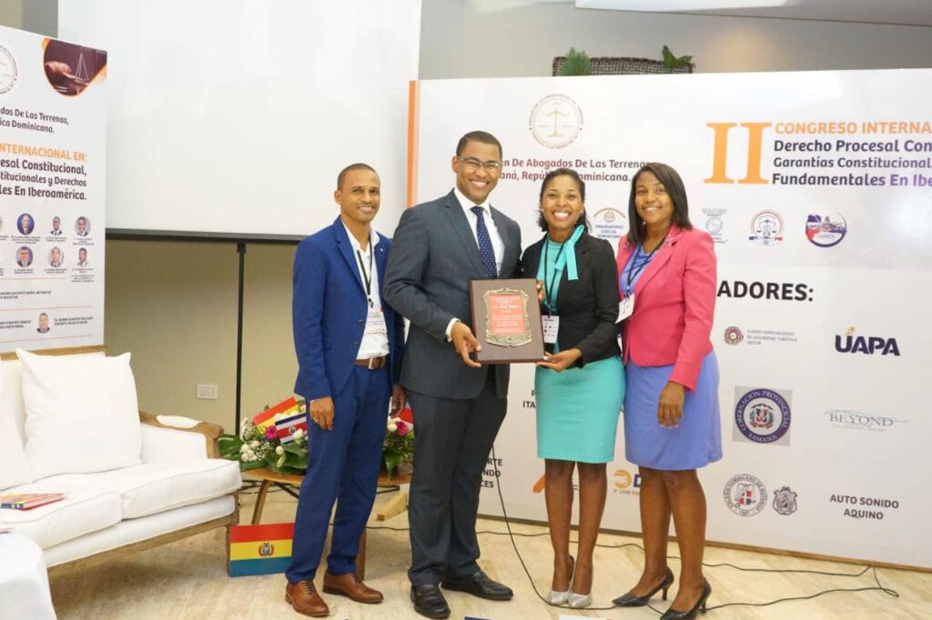 Reconocen Director-del-Observatorio Judicial Dominicano
