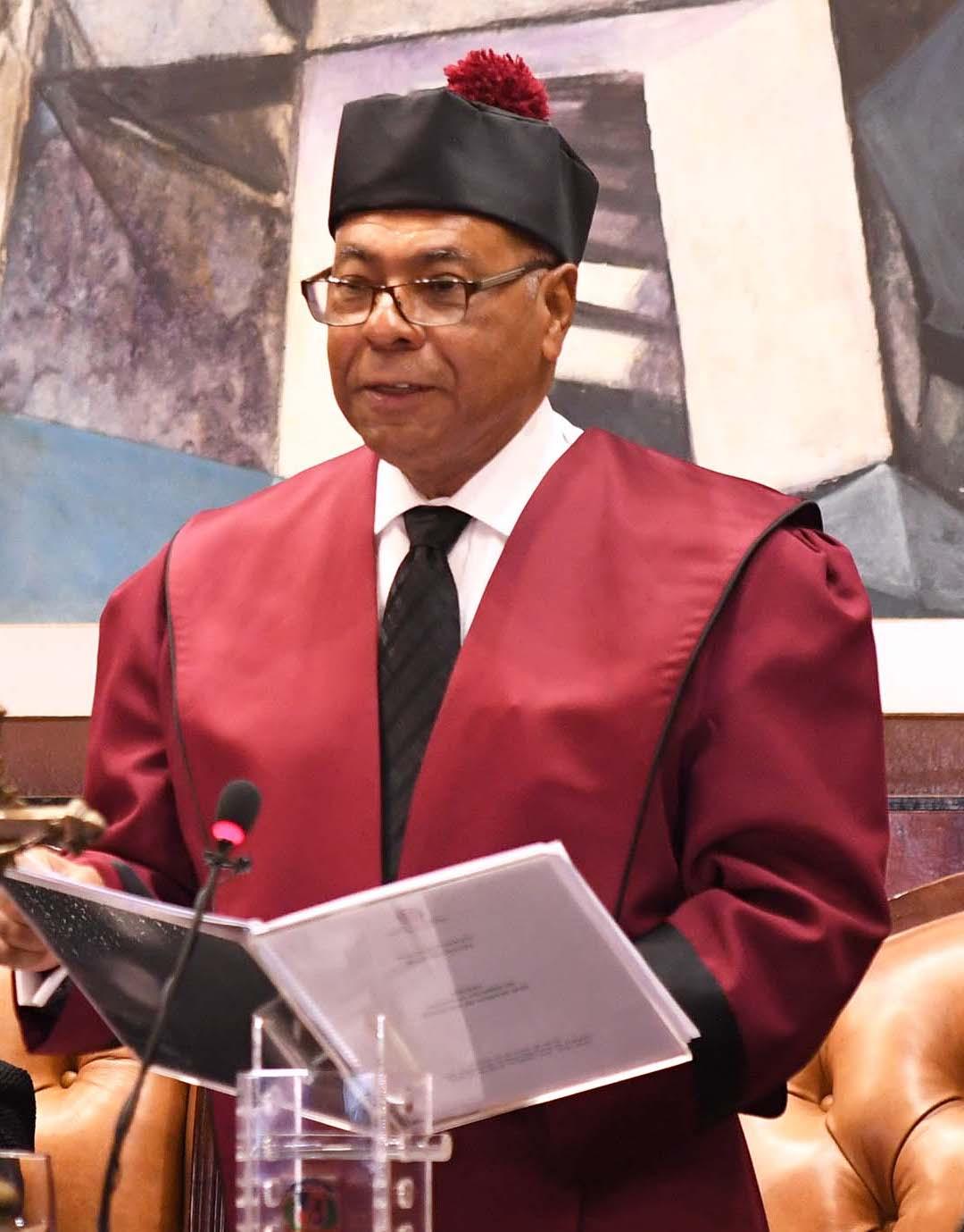 Discurso de rendición de cuentas del juez presidente del Tribunal Constitucional, Mgdo. Milton Ray Guevara, de fecha 25 de enero de 2017.