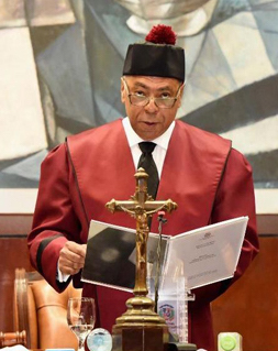 Discurso de rendición de cuentas del juez presidente del Tribunal Constitucional, Mgdo. Milton Ray Guevara, de fecha 25 de enero de 2019.